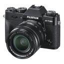 【4月23日20:00-4月28日1:59 最大6,000円OFFクーポン発行中!】FUJIFILM フジフイルム ミラーレス一眼カメラ X-T30 XF18-55mm レンズキット ブラック