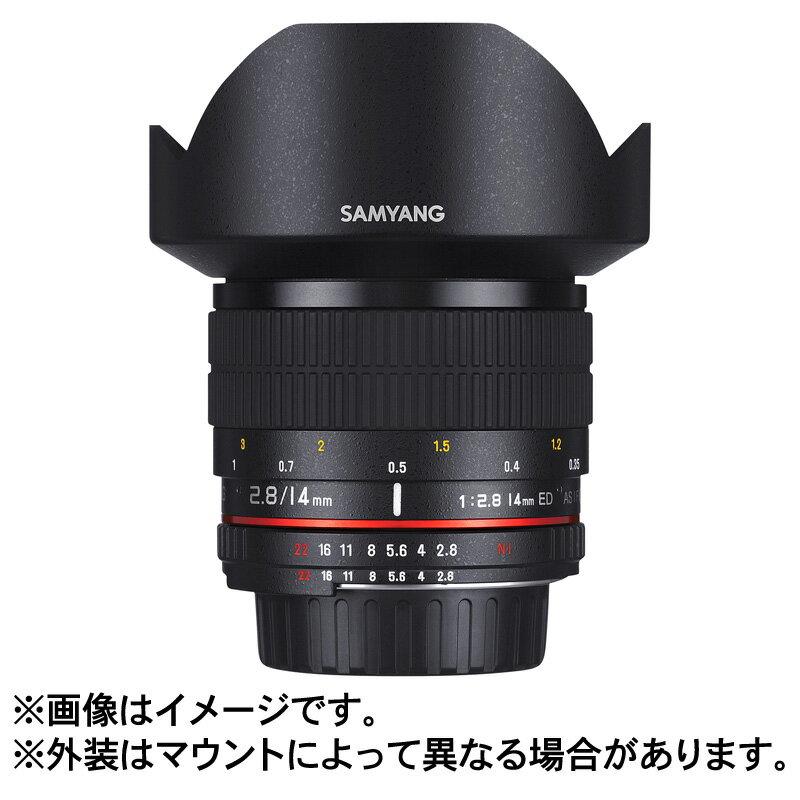 カメラ・ビデオカメラ・光学機器, カメラ用交換レンズ 102524W13SAMYANG 14mm F2.8 ED AS IF UMC K