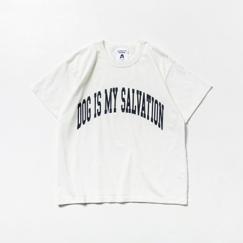 トップス, Tシャツ・カットソー TACOMA FUJI RECORDS DOG IS MY SALVATION designed by Shuntaro WatanabeTTACOMA FUJIt