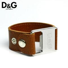 D&G ディーアンドジー ドルチェ&ガッバーナ ドルガバ ブレスレット メンズ ブランド アクセサリー レザー Men's Bracelet 腕輪 DJ0609【0405_腕時計】