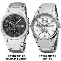 [送料無料]Dolce&Gabbana腕時計D&Gドルガバドルチェ&ガッバーナ[Dolce&Gabbana]クロノグラフクロノサンドパイパーメタルブラックメンズ腕時計3719770123ウォッチMen'sDolce&Gabbana腕時計