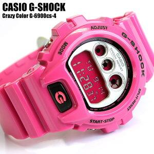 カシオ CASIO G-SHOCK G-ショック Gショック 腕時計 クレイジーカラー DW-6900CS-4カシオ CASIO...