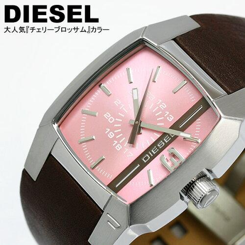 ディーゼル DIESEL ライン文字盤 レディース 腕時計 DZ5100 ブラウン ピンク