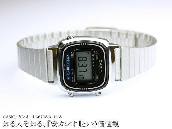 CASIO カシオ スタンダード レディース デジタル 腕時計 うでどけい LA670WA 女性用 Digital
