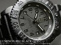 ルミノックスLUMINOXルミノックスネイビーシールズミリタリーブラックアウト腕時計3152.BO