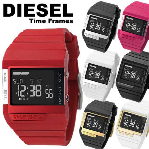 ディーゼル DIESEL 腕時計 ラバー デジタル メンズ レディース 腕時計 Men's 女性用 腕時計