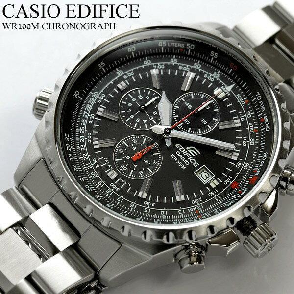 【マラソンセール&最大1000円クーポン】カシオ CASIO メンズ 腕時計 エディフィス EDIFICE カシオ腕時計 クロノグラフ クロノ 100m防水 腕時計 MEN'S うでどけい