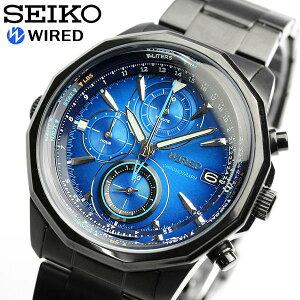 SEIKO セイコー メンズ WIRED ワイアード クロノグラフ クロノ うでどけい 腕時計 Men's ウォッ...