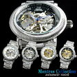 Montres Collection モントレスコレクション 腕時計 メンズ 手巻き スケルトン 機械式 ブランド ランキング ウォッチ うでどけい MEN'S