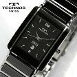 TECHNOS テクノス メンズ セラミック サファイアガラス 腕時計 TAM530TB