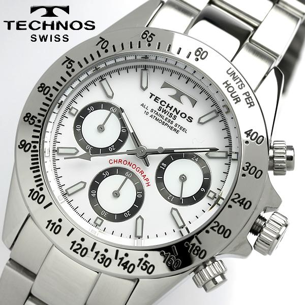 腕時計, メンズ腕時計 TECHNOS TGM615SW