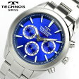 TECHNOS テクノス メンズ クロノグラフ 腕時計 T4201SN