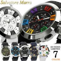 【SalvatoreMarra/サルバトーレマーラ】腕時計メンズクロノグラフ立体イン
