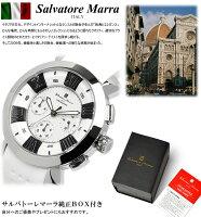 【楽天スーパーSALE】【半額以下】【スーパーセール】【SalvatoreMarra/サルバトーレマーラ】腕時計メンズクロノグラフ立体インデックス限定モデルラバーSM14102ウォッチうでどけいMEN'S多針アナログギフト