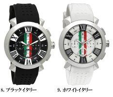 【SalvatoreMarra/サルバトーレマーラ】腕時計メンズクロノグラフ立体インデックス限定モデルラバーSM14102ウォッチMEN'S多針アナログギフト