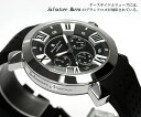 【Salvatore Marra/サルバトーレマーラ】 腕時計 メンズ クロノグラフ 立体インデックス 限定モデル ラバー SM14102 ウォッチ MEN'S 多針アナログ 父の日 ギフト 2