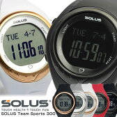 【SOLUS】 ソーラス 心拍計 腕時計 ユニセックス ランニングウォッチ ハートレート ストップウォッチ メンズ レディース 01-300 男女兼用 Men's うでどけい