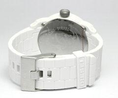 【送料無料】【ペアウォッチ】ディーゼルDIESEL腕時計2本セットDZ1436DZ1437ホワイトブラックユニセックス人気ブランドメンズレディースカップルペアーウォッチ男女