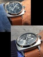 【送料無料】BRISTONブリストン腕時計メンズクロノグラフミリタリー本革レザーベルトクラシックブランド人気ウォッチレディースユニセックスBT15140