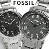 エントリーで最大P4倍 【FOSSIL】 フォッシル 腕時計 メンズ ブラック グレー メタル 5気圧防水 BQ1010 BQ1013 海外限定モデル 人気 ブランド ウォッチ Men's うでとけい