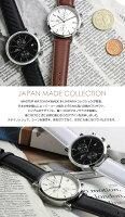 【メイドインジャパン】MASTERWATCHマスターウォッチ日本製クロノグラフ腕時計