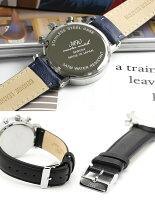 【メイドインジャパン】MASTERWATCHマスターウォッチ日本製クロノグラフ腕時計メンズ革ベルトレザーブランド人気ランキングビジネスアナログクロノMEN'S父の日ギフト