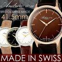 【メイドインスイス】Andrewco アンドリューアンドコー スイス製 腕時計 メンズ 革ベルト サファイアガラス イタリアンレザー ブランド 人気 ランキング ビジネス アナログ ウォッチ MEN'S