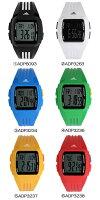 ADIDASアディダスDURAMOMIDパフォーマンス腕時計デジタルクオーツ5気圧防水デジタル表示ストップウォッチカレンダーポリウレタンADIDAS10