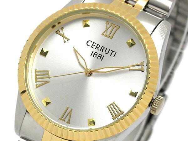 CERRUTI セルッティ 腕時計 ウォッチ メンズ クオーツ シンプル アナログ3針 crm12226