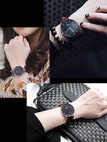 【送料無料】DanielWellingtonダニエルウェリントン腕時計ローズゴールドユニセックス36mm本革レザーベルトメンズレディースクラシックブランド人気うでどけいウォッチ