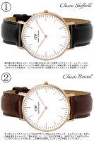 【送料無料】【DanielWellington】ダニエルウェリントン腕時計メンズ40