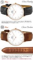 【送料無料】【DanielWellington】ダニエルウェリントン腕時計メンズ40mmダニエルウェリントン本革レザーClassicクラシック人気ブランドウォッチダニエルウェリントン0107DW0109DW0206DW0209DW