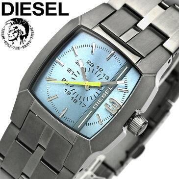 【送料無料】DIESEL ディーゼル クオーツ 腕時計 ウォッチ うでどけい メンズ 男性用 5気圧防水 ガンメタル アナログ3針 ステンレス dz1602