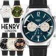 【送料無料】HENRY LONDON ヘンリーロンドン 腕時計 クロノグラフ メンズ 革ベルト レザー ウォッチ ローズゴールド ブランド 人気 ランキング シンプル 41mm