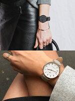 【送料無料】TheHorseザホースザ・ホース腕時計レディース革ベルトレザーウォッチローズゴールドピンクホワイトブランド人気ランキングシンプルクラシックTHECLASSIC36mm