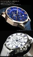 【SalvatoreMarra】サルバトーレマーラ腕時計メンズクロノグラフ10気圧防水コンビベルトSM15104人気ブランドウォッチうでどけいMEN'S
