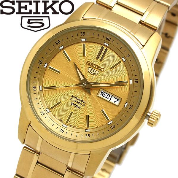 【送料無料】seiko セイコー 5 ファイブ 腕時計 ウォッチ メンズ 自動巻き 5気圧防水 バックスケルトン デイトカレンダー snkm94k1
