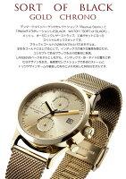 TRIWA/トリワSORTOFBLACK腕時計クロノグラフユニセックスステンレス付け