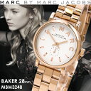 マークバイマークジェイコブス MARC BY MARC JACOBS BAKER ベイカー 腕時計 ...