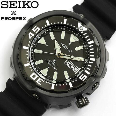 【送料無料】【SEIKO】【セイコー】 PROSPEX プロスペックス 自動巻き 腕時計 ダイバーズウォッチ Divers 200M防水 メンズ オートマティック カレンダー ラバー srpa81k1 ギフト