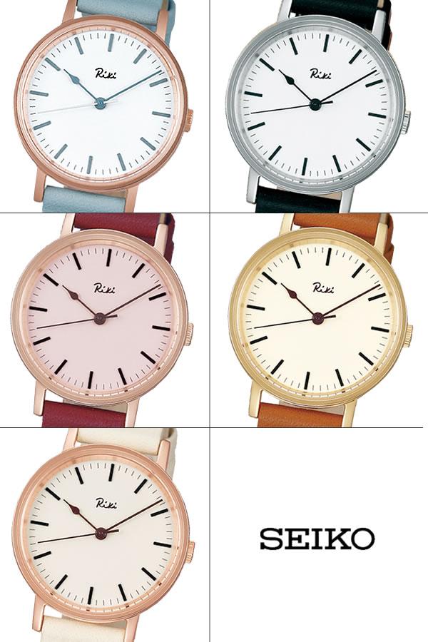 SEIKO ALBA セイコー Riki リキ クオーツ腕時計 レディース デザインウォッチ 日常生活防水 3針 ハードレックス 牛皮革ベルト ブランド シンプル RIKI09