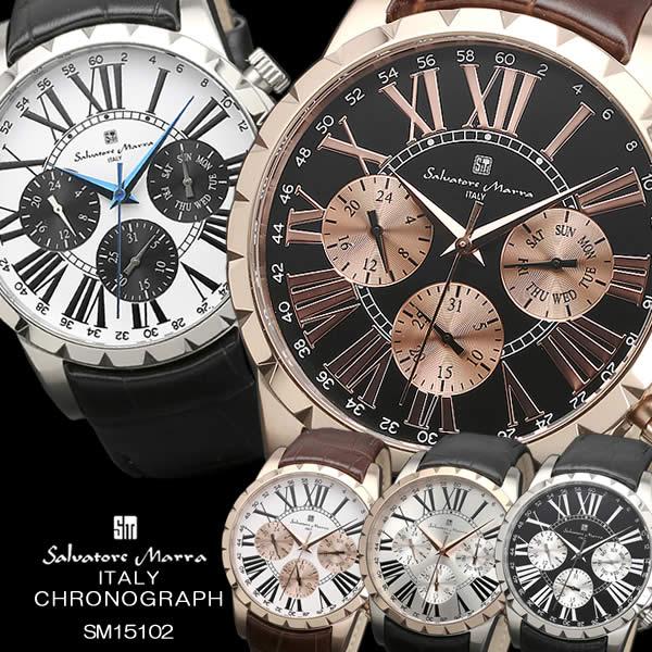 腕時計, メンズ腕時計 Salvatore Marra 10 sm15103