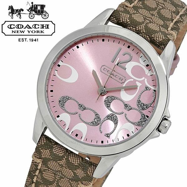 a14bffb29e85 【COACH】 コーチ クラシック シグネチャーClassic Signature 腕時計 レディーズ 14501621