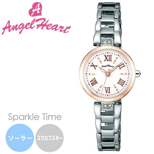 【】AngelHeart エンジェルハート Sparkle Time スパークルタイム 腕時計 ウォッチ レディース ソーラー 日常生活防水 スワロフスキーエレメント st24rsp