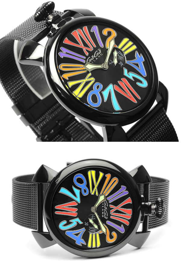 【】GAGA MILANO MANUALE ガガミラノ マニュアーレ 腕時計 ウォッチ ユニセックス メンズ レディース クオーツ 日常生活防水 ステンレス gaga-5082-1