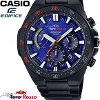 最大400円OFFクーポン CASIO カシオ EDIFICE エディフィス メンズ 腕時計 スクーデリア・トロ・ロッソ 限定モデル クロノグラフ ブルー ブラック EFR-563TR-2A ギフト