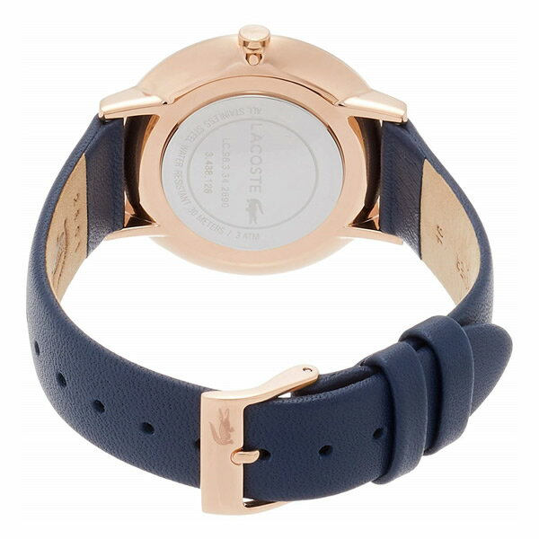 LACOSTE ラコステ 腕時計 レディース メンズ 革ベルト レザー シンプル 35mm 40mm クオーツ 日常生活防水 ブランド