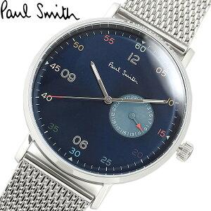 【送料無料】Paul Smith ポールスミス 腕時計 ウォッチ メンズ 男性用 クオーツ 日常生活防水 カレンダー ps0060006