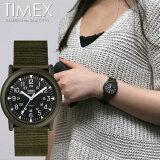 タイメックス TIMEX キャンパー Camper 腕時計 メンズ レディース カーキ ブラック T41711 スポーツ アウトドア ミリタリー 男 大人 ナイロン グリーン プレゼント ギフト クオーツ 3気圧防水 海外モデル