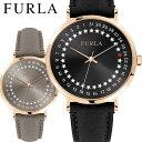 フルラ 時計 ジャーダ デイト 33mm レディース 女性 腕時計 ウォッチ FURLA ブラック グレージュ 革ベルト r4251121505 r4251121502